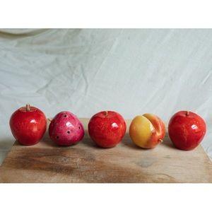 stone fruit decor set